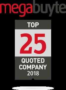 Top 25 Megabyte 2018